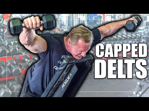The Perfect 3 Exercise Shoulder Workout for Capped Delts