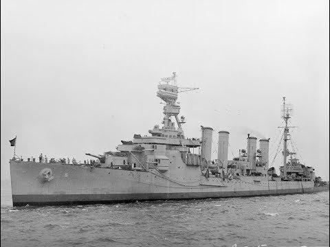 USS Milwaukee (CL-5) Murmansk