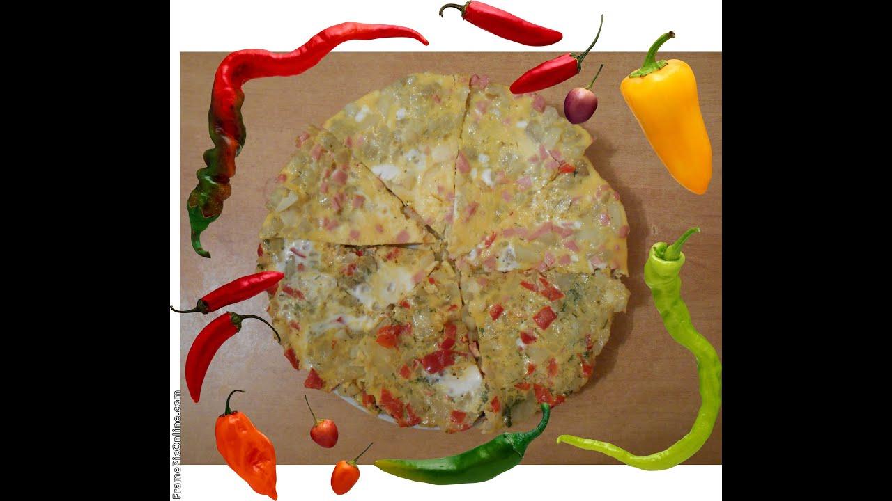Испанская Тортилья с картофелем перцем яйцом How to make the perfect omlette Tortilla de patatas