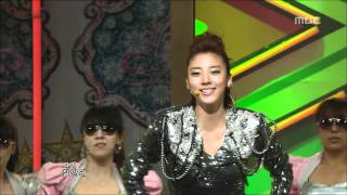 son dam bi saturday night 손담비 토요일 밤에 music core 20090502