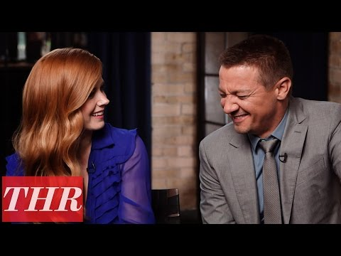 "Amy Adams, Jeremy Renner Say ""Fame is Like a Drunk Uncle"" 