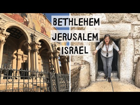 We're In Israel!! Bethlehem (Palestine) \u0026 Jerusalem - Three Continent Cruise