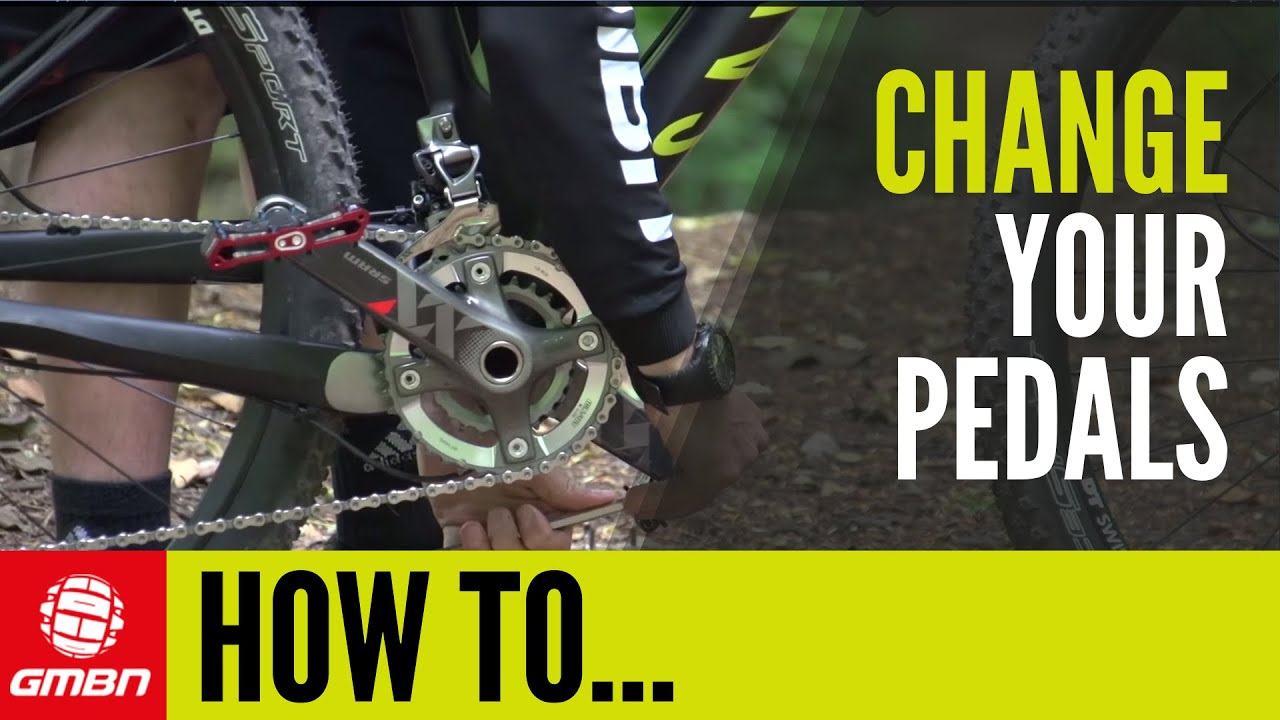 3d18610f6f1 How To Change Pedals- Remove and Replace Your Pedals. Global Mountain Bike  Network