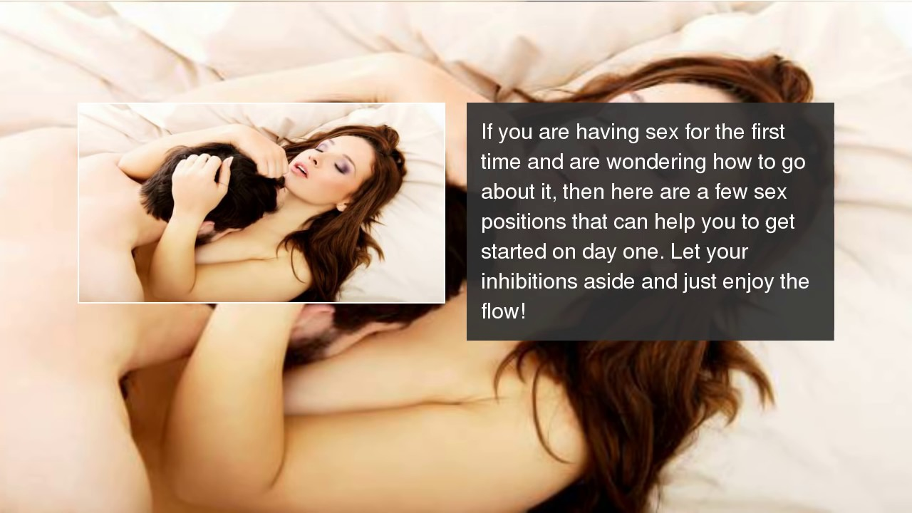 Sex positions for beginner