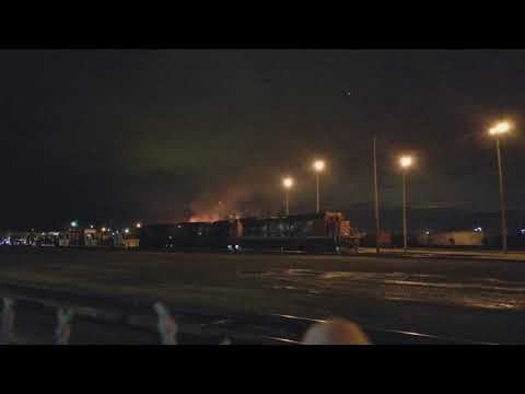 Canadian Pacific Railyard Fire - Port Coquitlam - 2