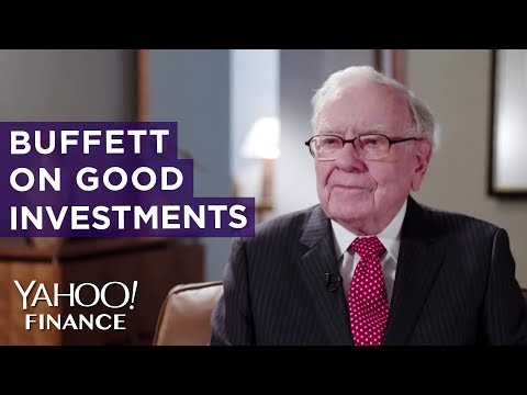 Warren Buffett on how to decide if something is a good investment