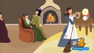 Cinderella - Thai stories for kids. Thai books for kids.