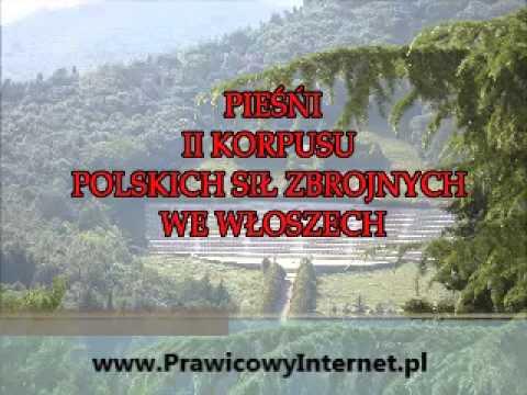 Staropolskie oświadczyny - Pieśni II Korpusu Polskich Sił Zbrojnych we Włoszech