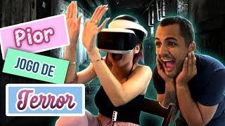 SOCORRO! JOGO EM REALIDADE VIRTUAL | BRUNA GOMES