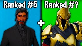"RANKING EVERY ""TIER 100"" SKIN FROM WORST TO BEST! (Fortnite Battle Royale)"