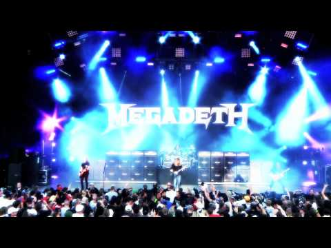 Megadeth Mayhem Tour 2011 - Peace Sells Thumbnail image
