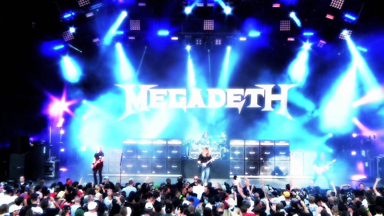 Megadeth — Mayhem Tour 2011 — Peace Sells