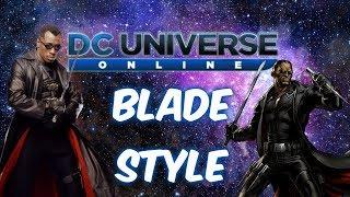 Blade Style (Blade Trinity Version) DC Universe Online!