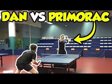 Zoran Primorac Vs TableTennisDaily's Dan!