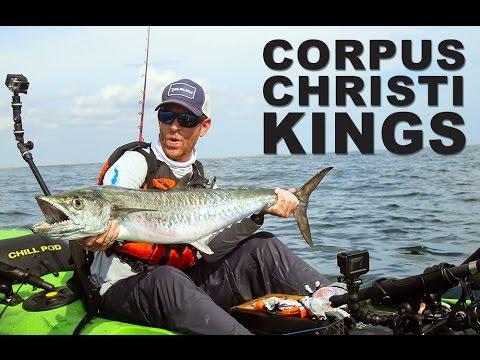 Kayak fishing corpus christi kings viking kayaks youtube for Corpus christi fishing report