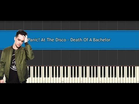 Panic! At The Disco - Death Of A Bachelor (piano cover/tutorial)