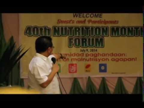 ARMM isinusulong ang kampanya ng wastong kalusugan laban sa malnutrisyon