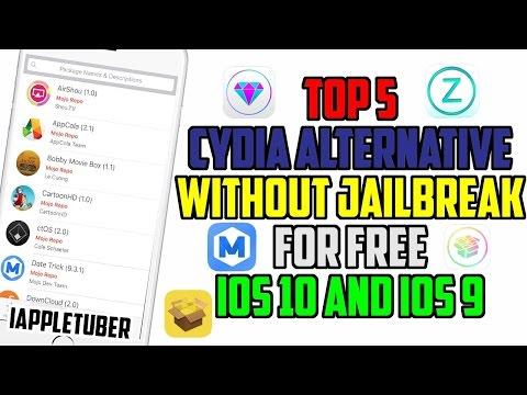 BEST 5 Cydia Alternatives Working On IOS 10/10.1 To Install Cydia Tweaks No Jailbreak IPhone , IPad