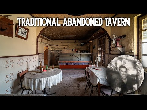 Traditional abandoned Portuguese tavern of Mr. José   Trapped in time