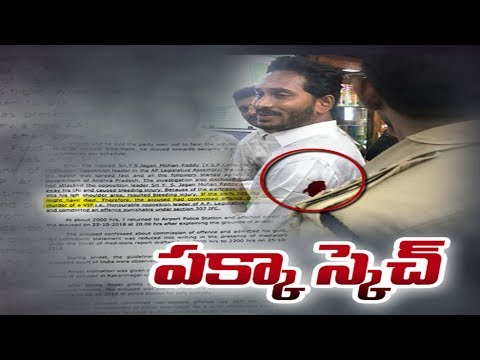 Attack on Y S Jagan Mohan Reddy | police remand report - Sakshi TV Special Debate