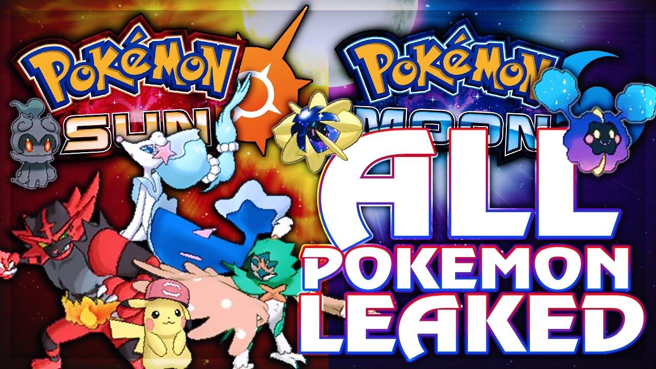 Download SOLGALEO & LUNALA PRE-EVOLUTIONS, NEW POKEMON, ALOLA FORMS, ULTRA BEASTS & MORE - Pokémon Sun & Moon