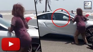 Shahrukh Khan Car STOPPED By Homeless Woman | LehrenTV