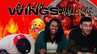BLAZIN' WINGS CHALLENGE