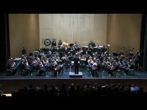 Banda de Musica de Melilla – Concierto 25 aniversario – D'Agost a Callosa