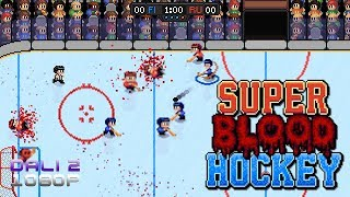 Super Blood Hockey PC Gameplay 1080p