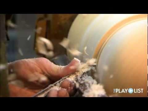 Terry Hallback-Wood Turning Artist on The PlayList