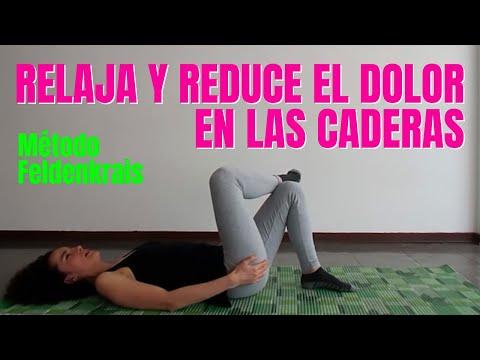 Relaja y reduce el dolor en tus caderas.