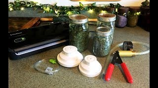 How to Vacuum Seal Dry Goods in Canning Jars