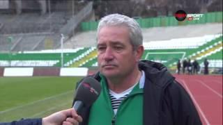 Мнението на Ферарио Спасов след загубата от ЦСКА