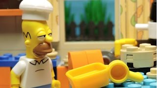 """""""Simpsons' Mother's Day"""" Lego Simpsons animation"""