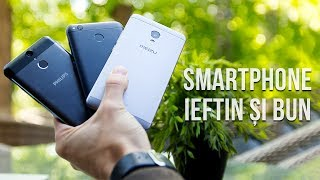 Smartphone ieftin și bun: Philips X588 vs Xiaomi Redmi 4X vs Meizu M5s