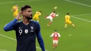 Les 10 plus beaux buts d'Olivier Giroud