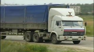 Пластилиновый  КамАЗ 54115 из сериала Дальнобойщики
