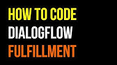 Dialogflow Intents: Know what your users want [Basics 1/3] - YouTube