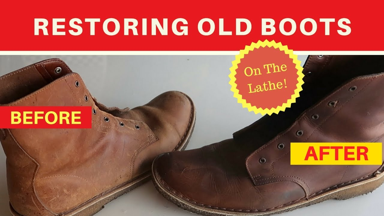Diy Fixing Leather Boots Repair
