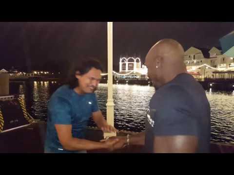 Adam Beach vs the IFL Championship Ring
