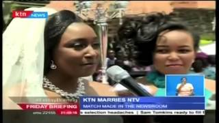 Betty Kyallo and Dennis Okari's wedding