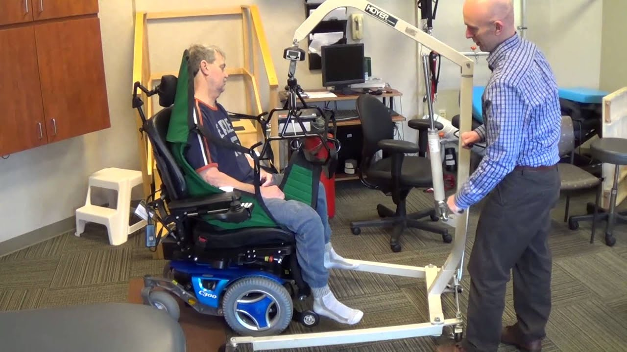 Hydraulic Patient Lift Demonstration