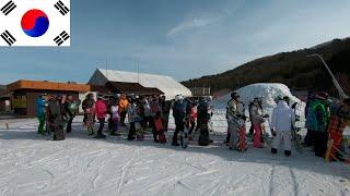 Корея 8 Muju Горнолыжный курорт Муджу Цены