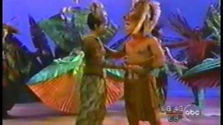 "The Lion King - Broadway Cast performs ""Can You Feel the Love Tonight?""."