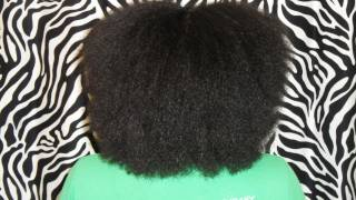 Natural Hair | October 2011 Blowout (almost 16.5 months post relaxer)