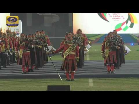 Closing Ceremony - South Asian Games 2016 - LIVE