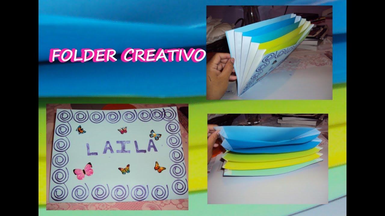 Diy folder carpeta creativa youtube for Ideas para decorar una casa nueva