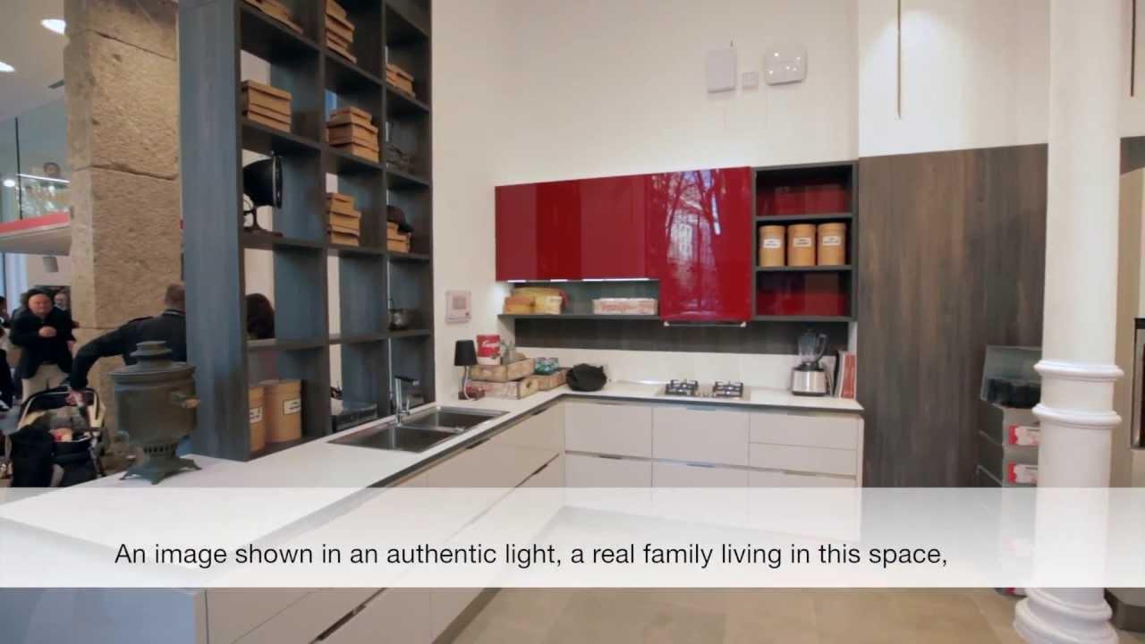 Spazio Veneta Cucine Foro Buonaparte Milano la settimana del Salone del Mobile  YouTube