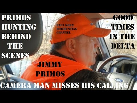 Primos Camera Man Misses His Calling!  Behind The Scenes Primos Hunting Calls In Action