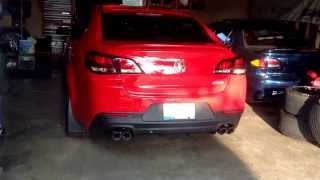 Small sound clip MRT Cat Back Exhaust 2014 CHEVY SS
